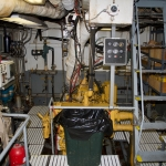 Pacific Storm engine room