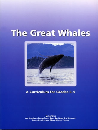 The Great Whales Curriculum Cover