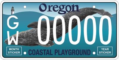 Marine Mammal Institute's Whale plate